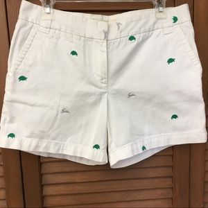 J Crew chino city-fit critter shorts